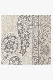 Machine Washable 2.5'x7' Tisa French Grey Rug Rug