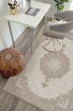 Machine Washable 5'x7' Tisa Natural Pearl Rug Rug