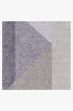 Machine Washable 2.5'x7' Urbano Lilac Rug Rug