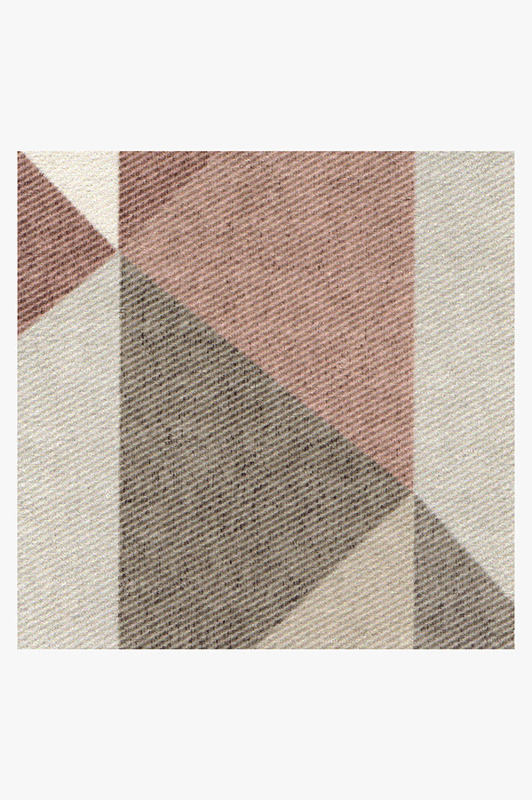 Machine Washable 5'x7' Urbano Rosewood Rug