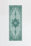 Machine Washable 2.5'x7' Victoria Teal Green Rug Rug