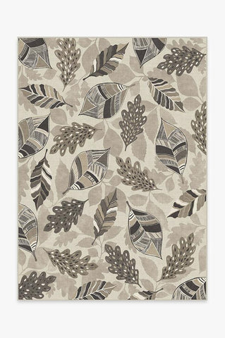 Festive Garland Warm Grey Rug
