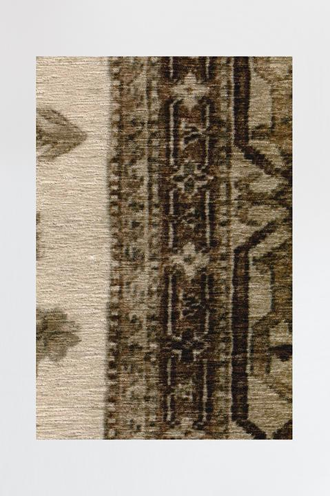 Cambria Taupe Rug Machine Washable Area Rug Ruggable
