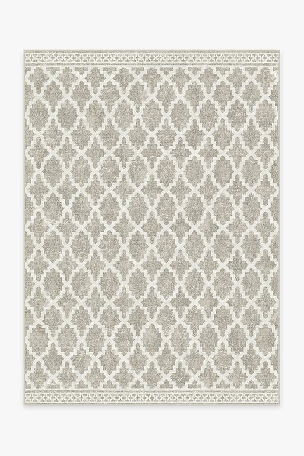 Outdoor Cleo Trellis Natural Rug