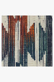 Machine Washable 5'x7' Hesperia Multicolor Rug Rug