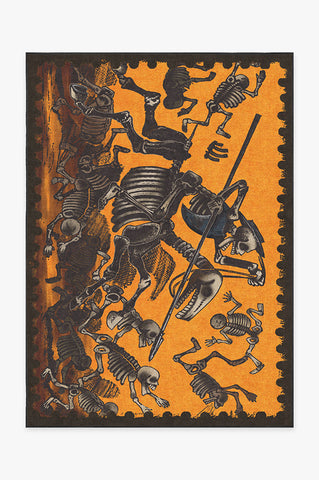 Jose Posada Feast of the Dead Rug