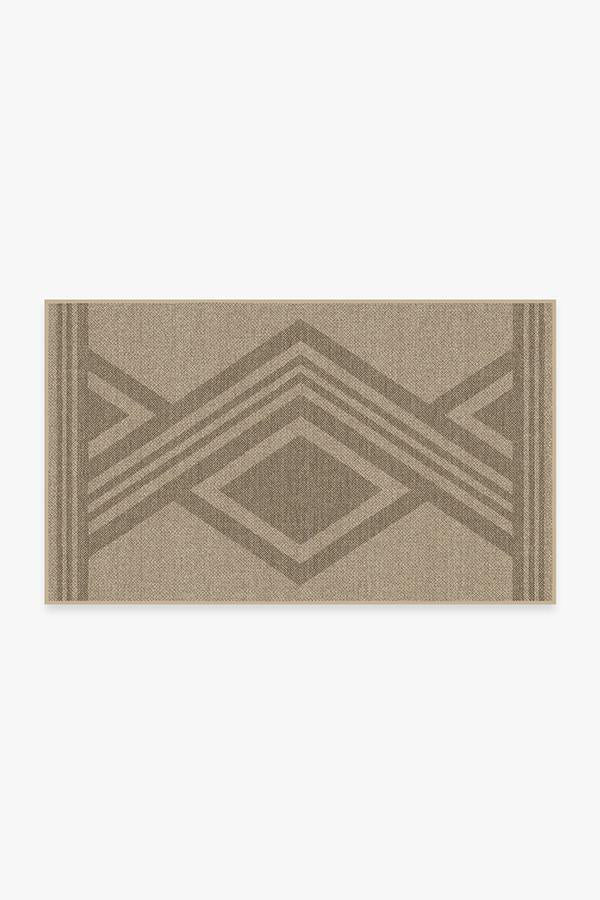 Washable Rug Cover | Madera Sand Re-Jute Rug | Stain-Resistant | Ruggable | 3'x5'