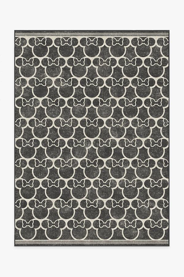 Minnie Trellis Black Rug