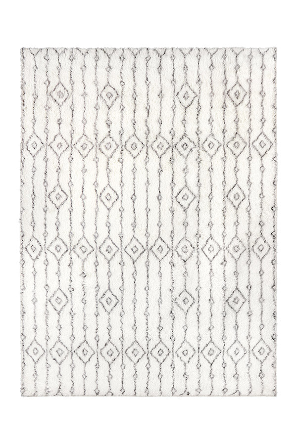 Washable Rug Cover & Pad | Moroccan Ornate Plush Rug | Stain-Resistant | Ruggable | 5'x7'