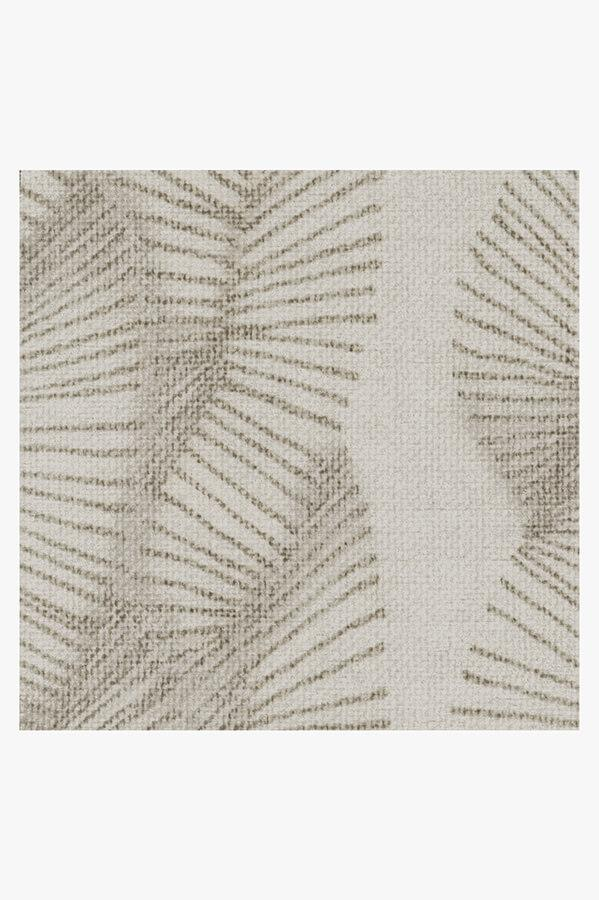 Machine Washable 2.5'x7' Nodum Light Grey Rug