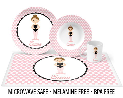 Ballerina Tableware for Girls