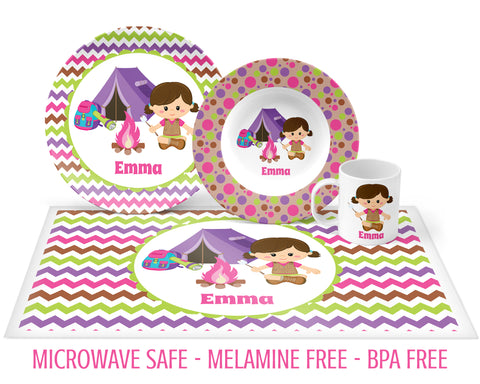 Camping Tableware for Girls