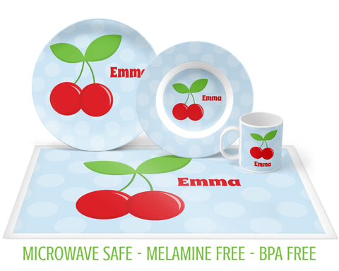Cherry Tableware for Girls