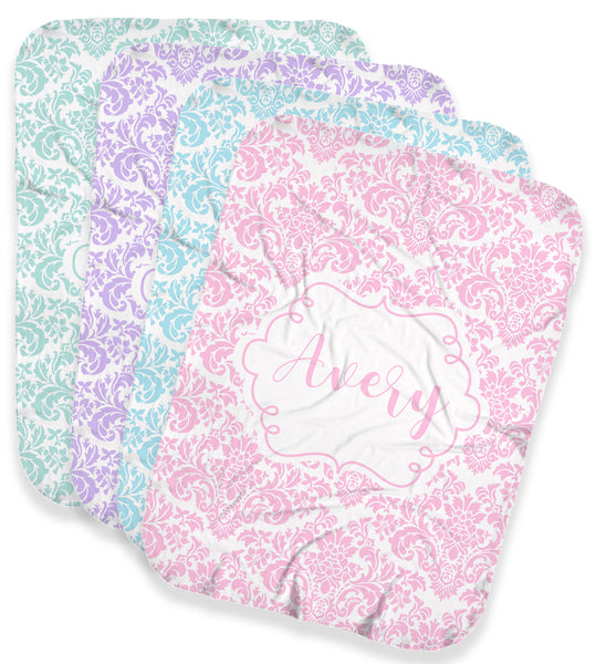 Damask Pastel Stretchy Swaddle