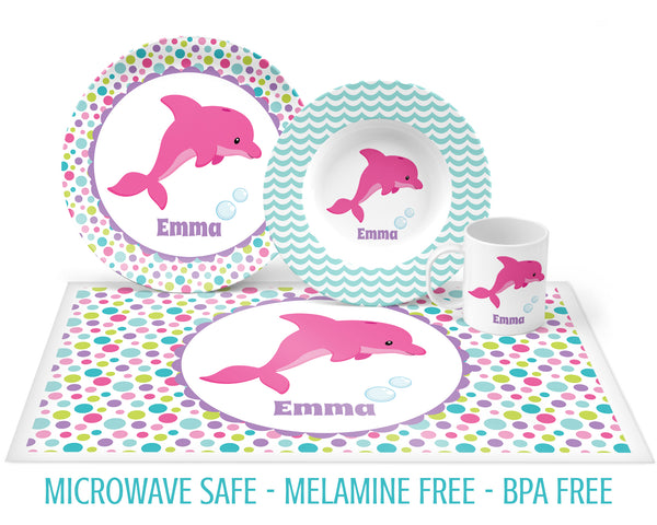 Dolphin Tableware for Girls