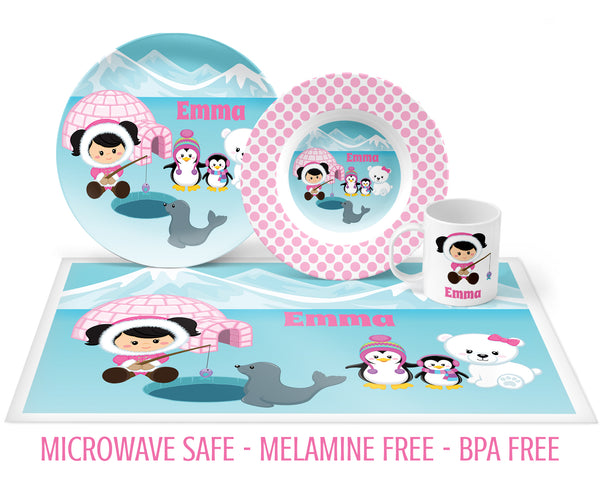 Eskimo Tableware for Girls