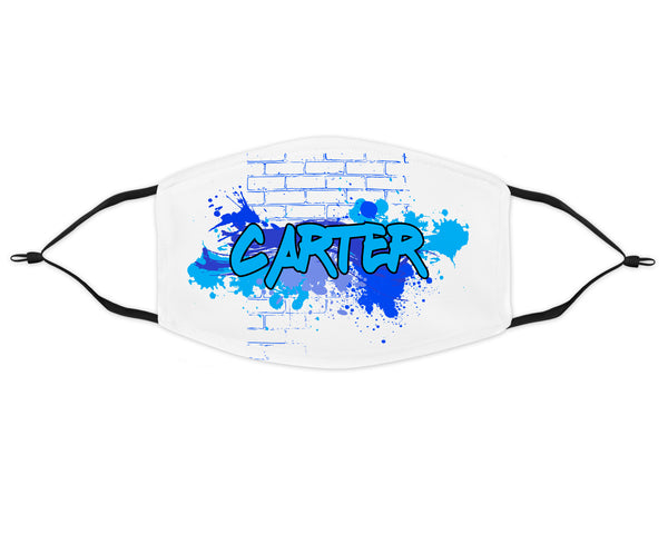Graffiti Face Mask for Boys