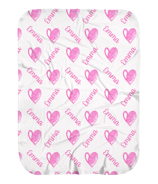 Hearts Stretchy Swaddle