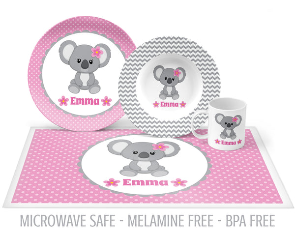 Koala Tableware for Girls