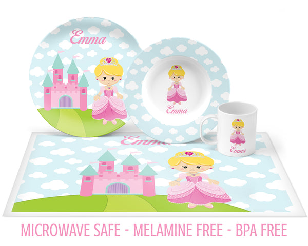 Princess Tableware for Girls