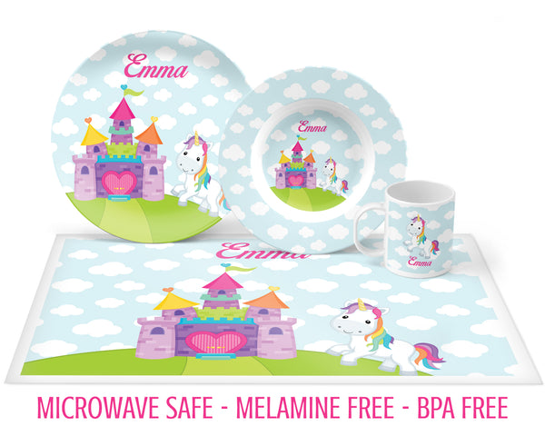 Unicorn Tableware for Girls