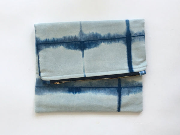 Shibori clutch no. 27