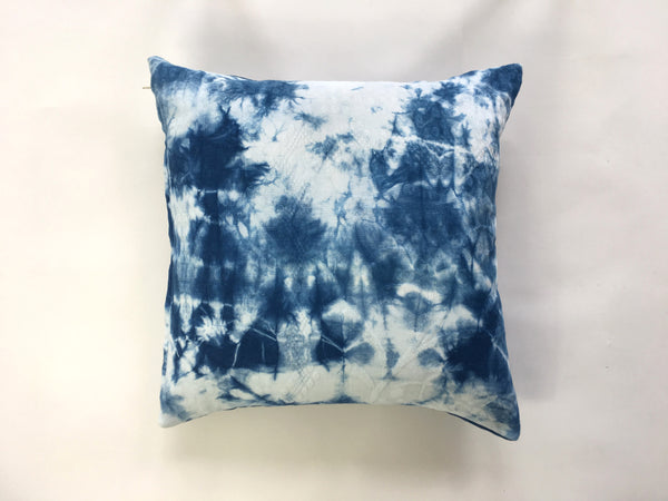 Shibori throw pillow no. 22