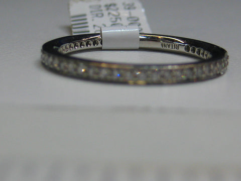 0.26CTW RITANI Eternity Band In Platinum - IDJ008623