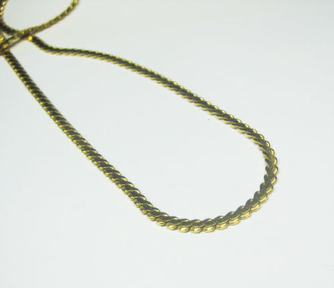 22KT Yellow Gold Necklace 20 Inches -IDJ013741