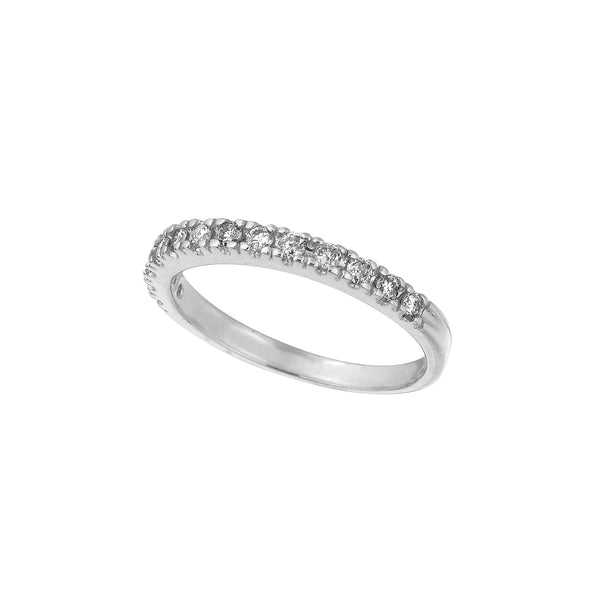0.25 CTW Diamond Stackable Ring, 14K White Gold IDJR5692WD