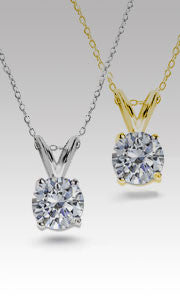 Solitaire Pendants