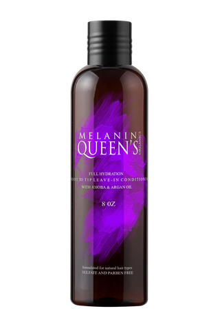 Full Hydration, Root-to-Tip, Leave-in Conditioner - Melanin Queen's Organics