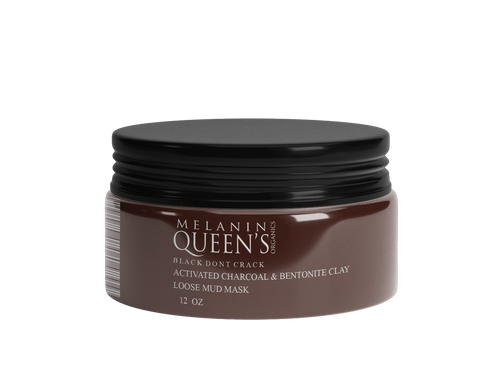 "DRY Melanin Queen's ""Black Don't Crack"" Loose Clay Mask - Melanin Queen's Organics"