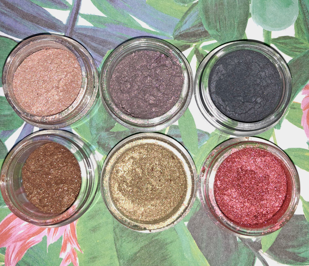 Tropical Pearl Pigments- 6 pack