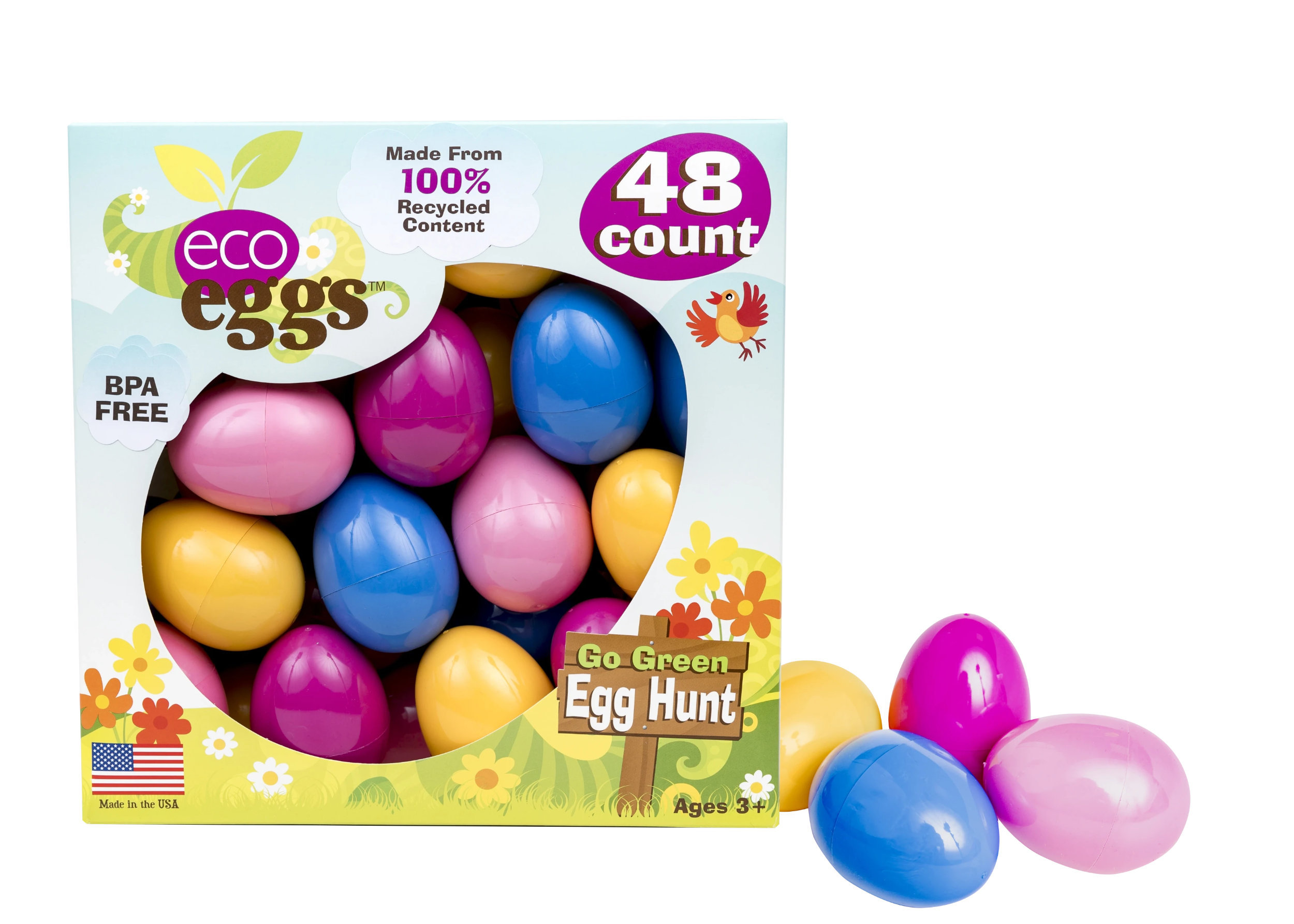 48 Count eco eggs 2 Pack