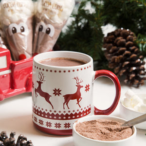Reindeer Hot Cocoa 6 Pack