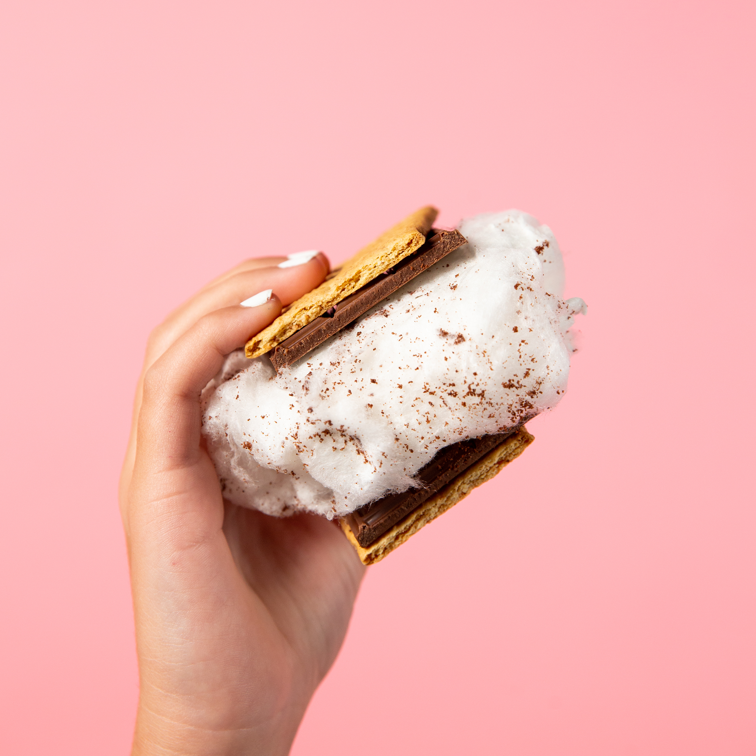 Want S'More Organic Cotton Candy 4 Pack