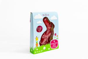 Giant Cherry Gummy Bunny 12 pack