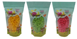12 1.25oz re-sealable bags of eco grass