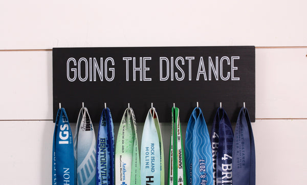 Running Medal Holder - Going the Distance - Medium