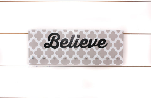 Medal Holder - Believe - Medium