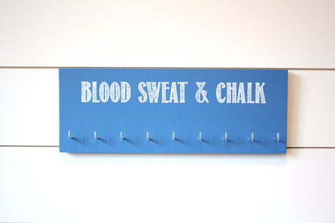 Gymnastics Medal Holder - Blood Sweat & Chalk - Medium - York Sign Shop - 1