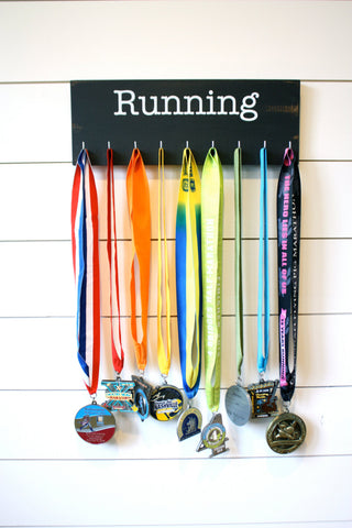 Running Medal Display - Medium - York Sign Shop - 1