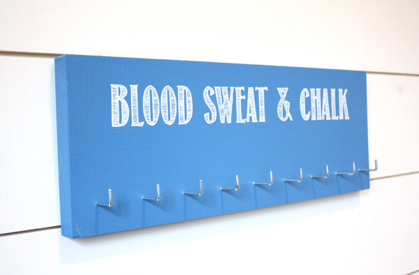 Gymnastics Medal Holder - Blood Sweat & Chalk - Medium - York Sign Shop - 2