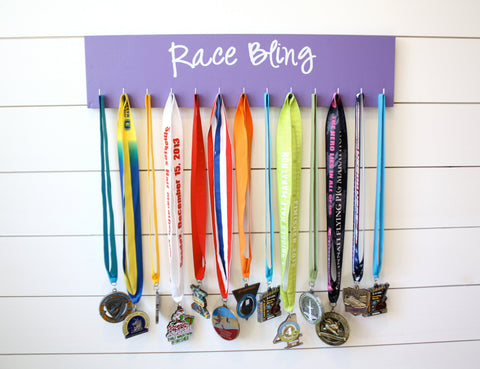 Race Medal Holder - Race Bling - Large - York Sign Shop - 1