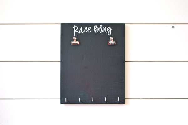 Running Race Bib and Medal Display -  Race Bling - York Sign Shop - 3