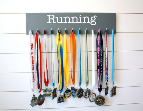 Running Medal Holder - Large - York Sign Shop - 1
