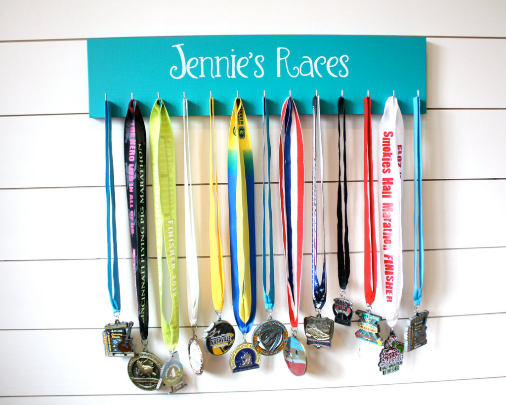 Personalized Medal Holder - Large - York Sign Shop - 1
