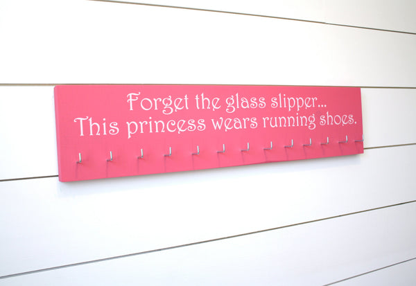 Disney Princess Medal Holder - Forget the Glass Slipper - Large - York Sign Shop - 2