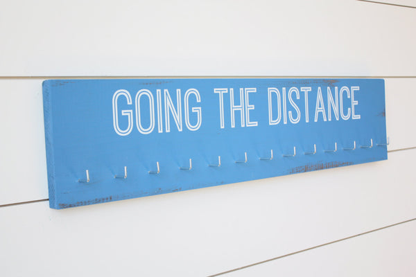 Medal Holder - Going the Distance  - Large - York Sign Shop - 3